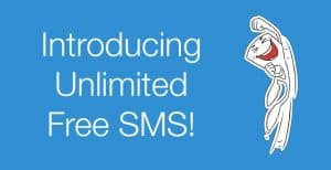 Hike vs whatsapp -SMS facility
