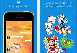 Hike vs whatsapp: Hike Amazing Stickers