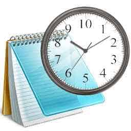 NOTEPAD-CLOCK