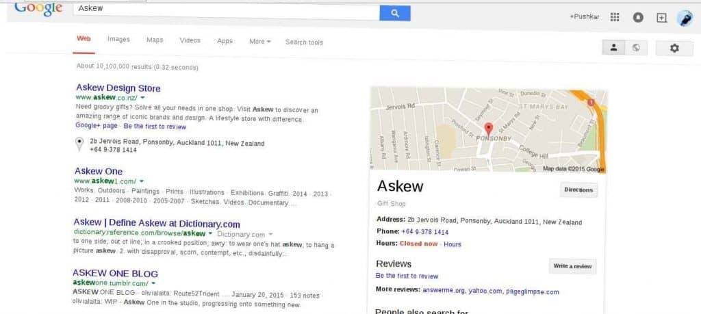 Askew Search