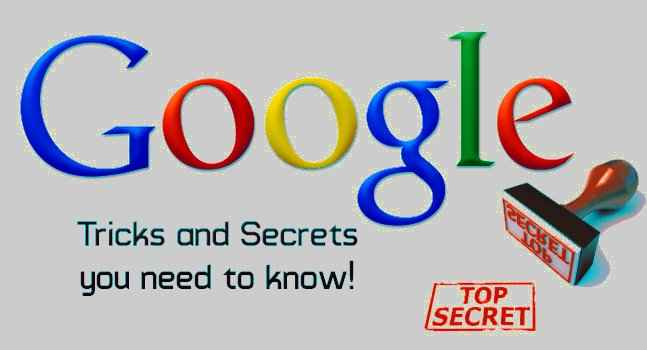 Google tricks & secrets