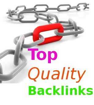 Top quality backlinks