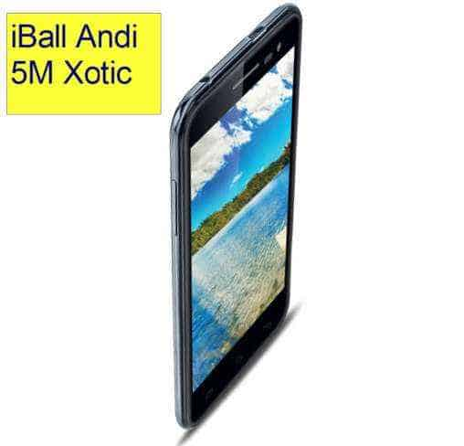 iBall Andi 5M Xotic- 2GB Ram and 16 GB internal storage for Rs. 8890