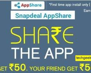 snapdeal App share