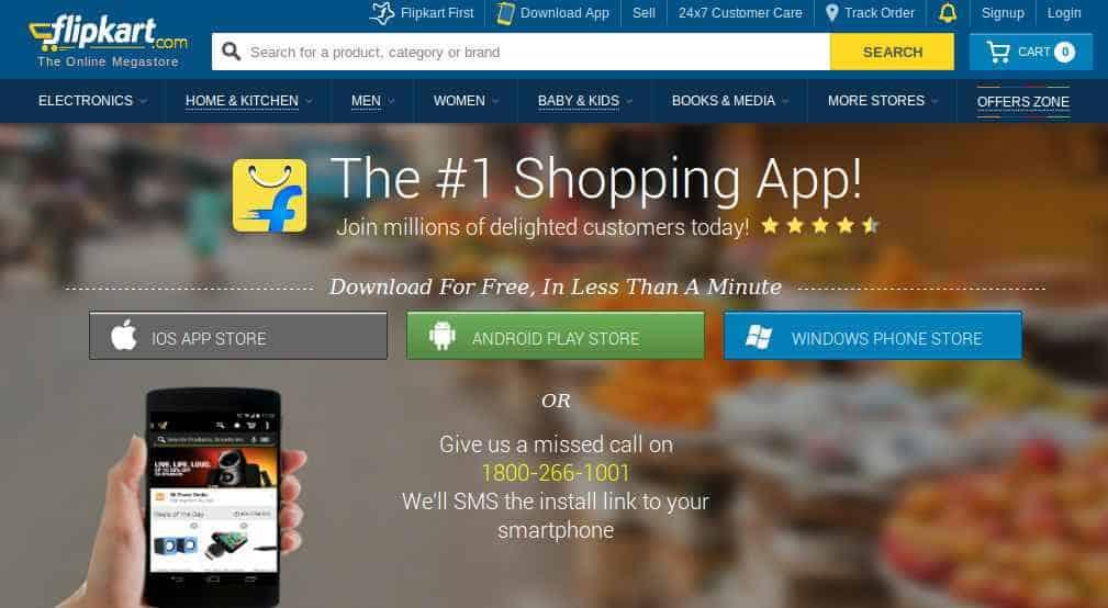 Flipkart app offer