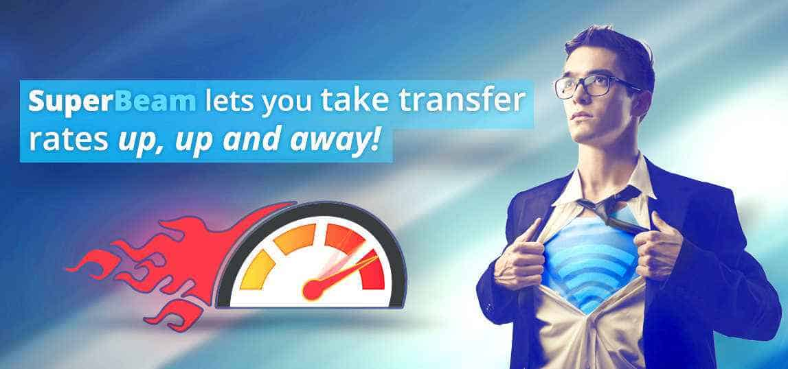 SuperBeam File Transfer App Android
