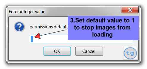 disable image in firefox