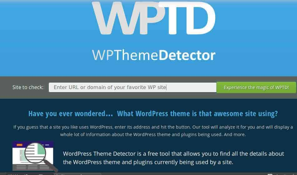 use Wpthemedetector befor applying for a google adsense