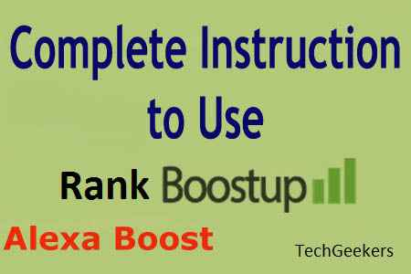 Alexa Boostup Tool TechGeekers
