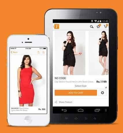 Jabong- A must have shopping apps