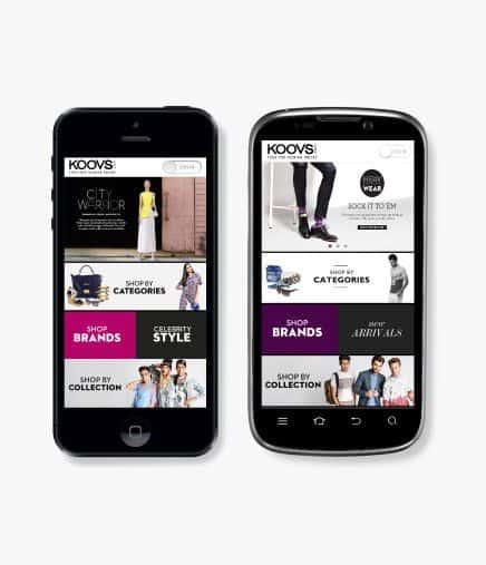 Koovs- fashion shopping