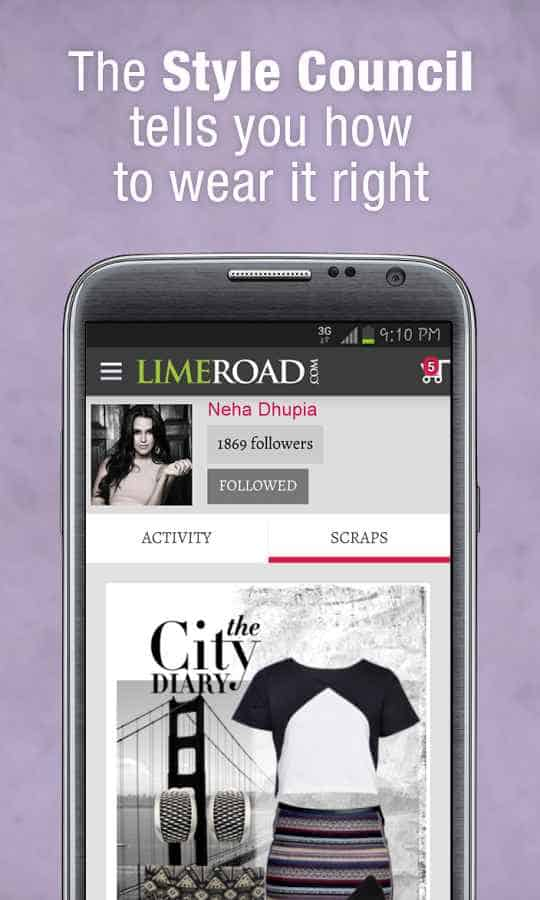 Limenroad shopping apps