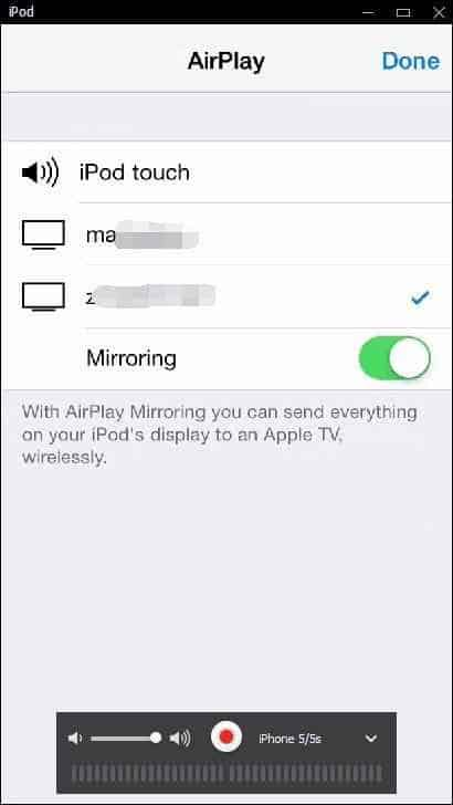 airplay in 5kplayer