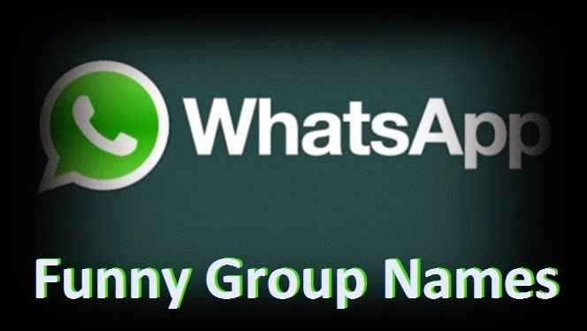 cool whatsapp group names
