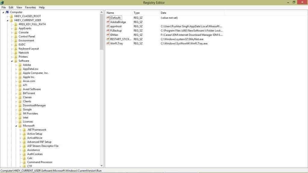 shotcut virus remover registry edit method