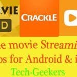 Free movie streaming apps android and ios