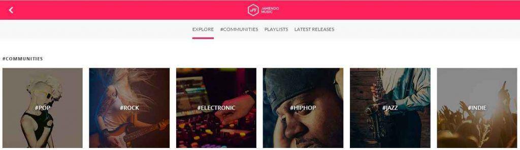 Jamendo free mp3 download sites