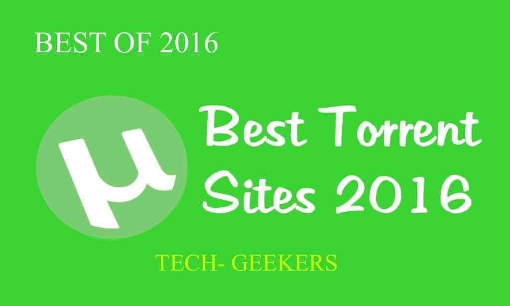 Top best torrent websites