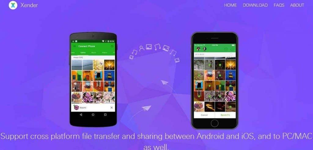 Xender for pc file transfer app
