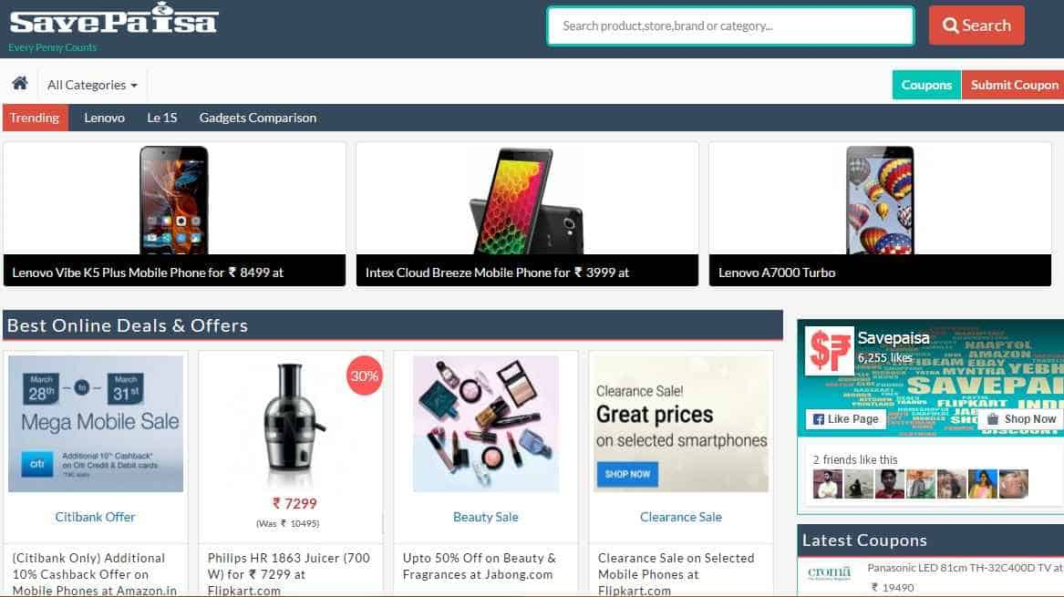 SavePaisa Review: Save Your money in Online shopping