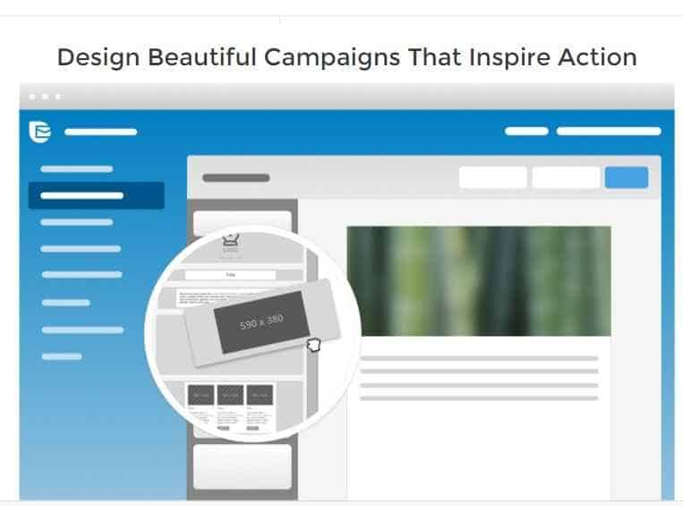 Design Beautiful campaign using sendinblue
