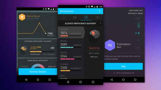 Elevate- best android apps