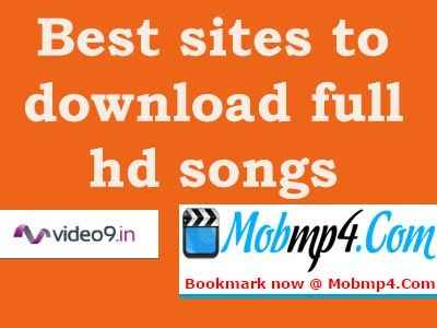 Best sites to download hd video songs