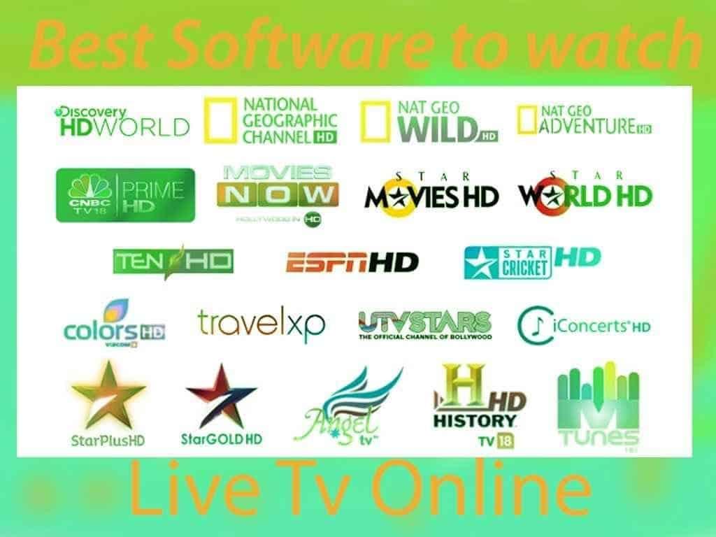 best software to watch live tv online