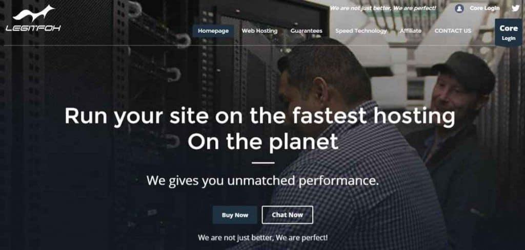 legitfox-web-hosting