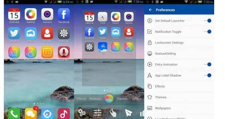 Best iPhone launchers For Android 1