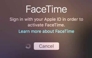 How do I activate FaceTime after an Unsuccessful activation?