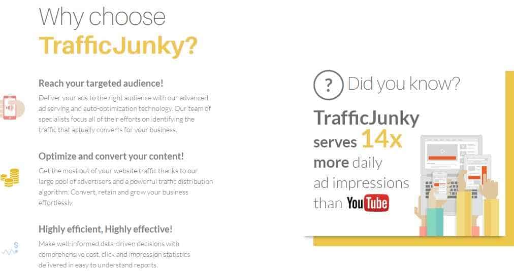 why to choose traffic junky