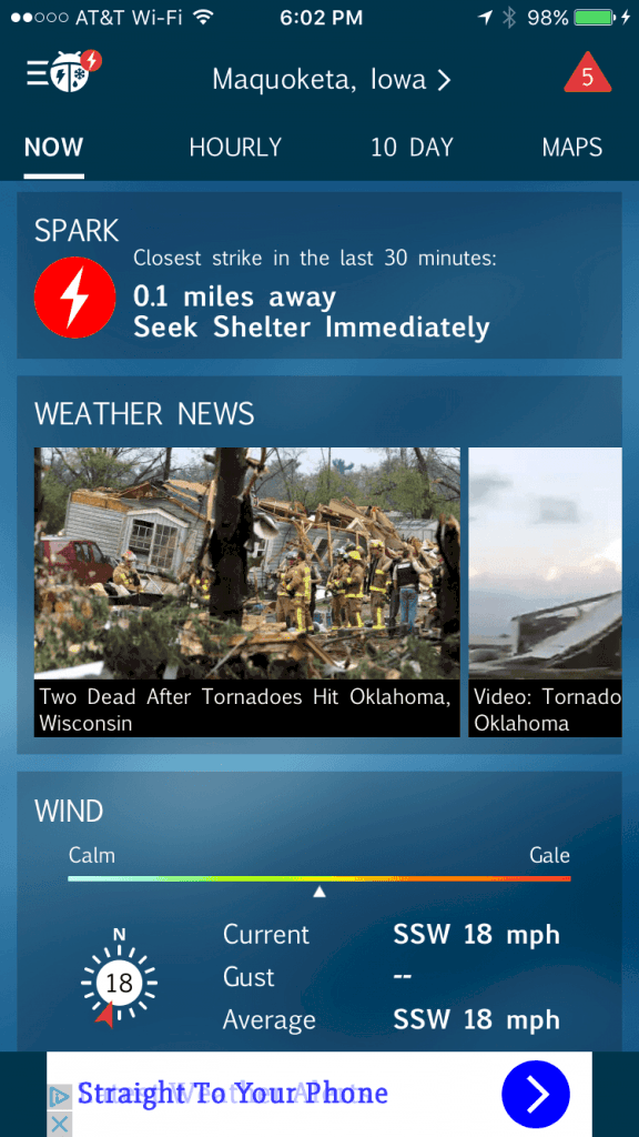 WeatherBug App Review: Accurate Weather Information on Your Fingertips 2