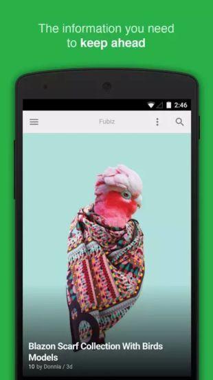FEEDLY app