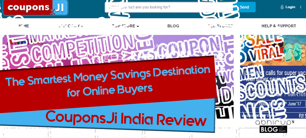 Couponsji Review: Best Online Coupons site 1