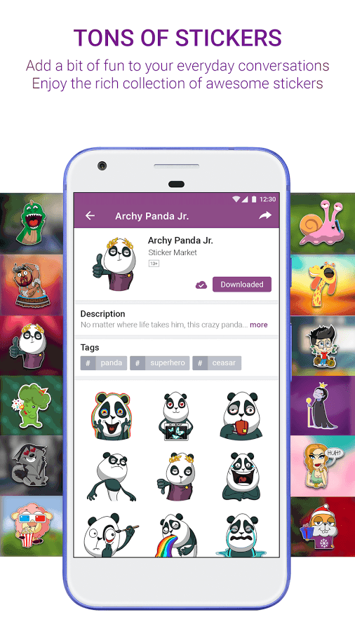 Sticker Market: Access Custom Face Emojis, GIFs & Stickers for Messaging & Web Experience! 3
