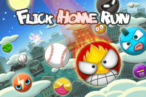 The most wanted game for iOS: Flick Home Run