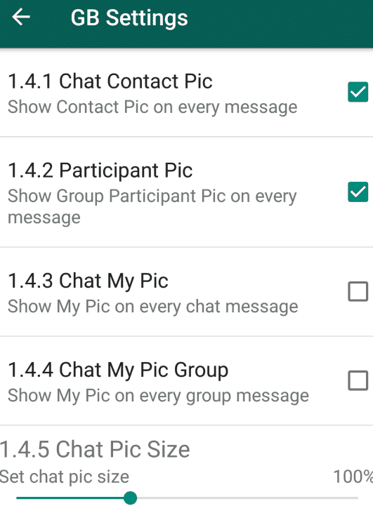 Download GBWhatsapp APK Latest version 6.71 (Updated) 3