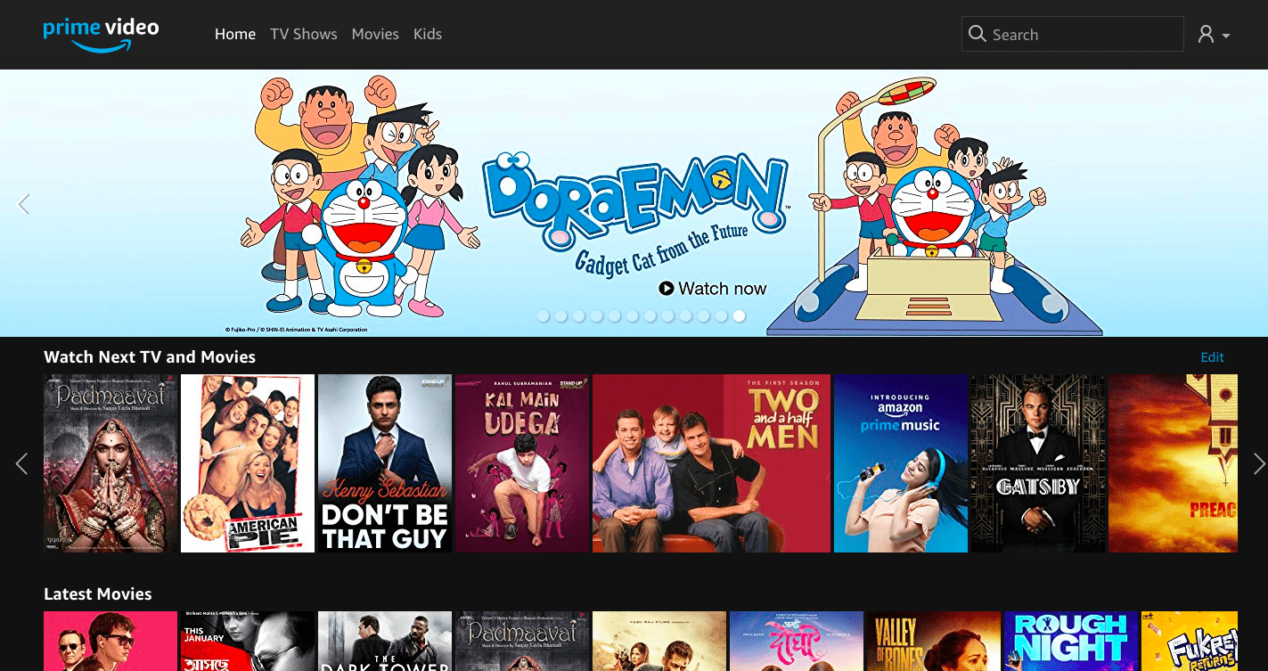 Top Alternatives of Netflix India to Watch Free Movies 1