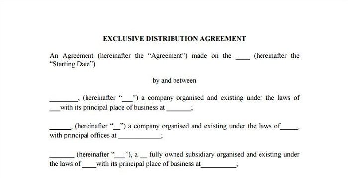 5 Detailed Exclusivity Agreement Samples for Your Business 5