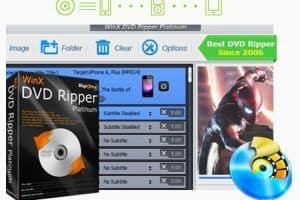 WinX DVD Ripper Plat
