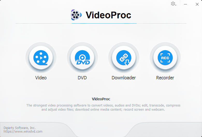 VideoProc: Process & Convert GoPro and iPhone 4K Videos with the Same Quality 1