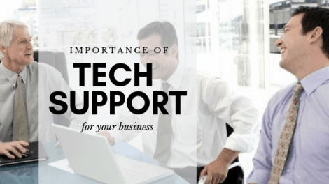 The Importance of Tech Support for Your Business 1
