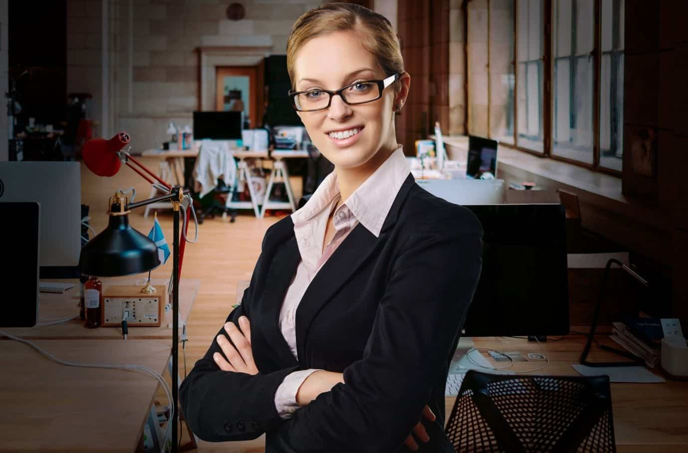 business girl smart professional
