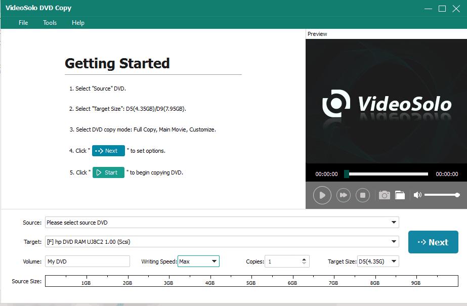 VideoSolo DVD Copy Review 1